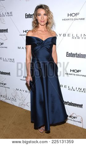 LOS ANGELES - JAN 20:  Natalie Zea arrives for the EW Magazine honors SAG Nominees on January 20, 2018 in West Hollywood, CA