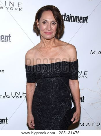 LOS ANGELES - JAN 20:  Laurie Metcalf arrives for the EW Magazine honors SAG Nominees on January 20, 2018 in West Hollywood, CA