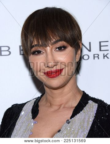 LOS ANGELES - JAN 20:  Jackie Cruz arrives for the EW Magazine honors SAG Nominees on January 20, 2018 in West Hollywood, CA
