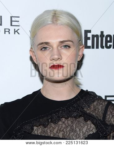 LOS ANGELES - JAN 20:  Gayle Rankin arrives for the EW Magazine honors SAG Nominees on January 20, 2018 in West Hollywood, CA