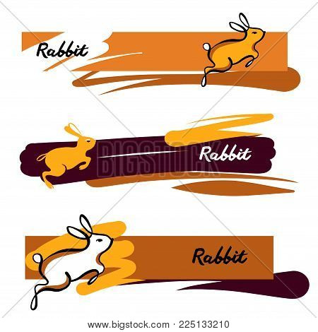 Text Rabbit Freehand Vector Photo Free Trial Bigstock