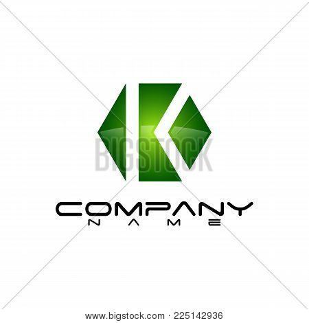 Hexagon - Vector logo concept illustration. Hexagon geometric polygonal logo. Hexagon abstract logo. Vector logo template. Design element.