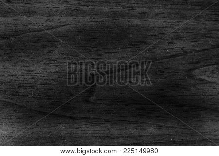 Monochrome Wooden texture, empty wood background, cracked surface.