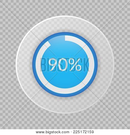 90 percent pie chart on vector photo bigstock 90 percent pie chart on transparent background percentage vector infographics circle diagram isolated ccuart Images