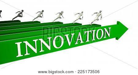 Innovation Opportunities as a Business Concept Art 3D Render