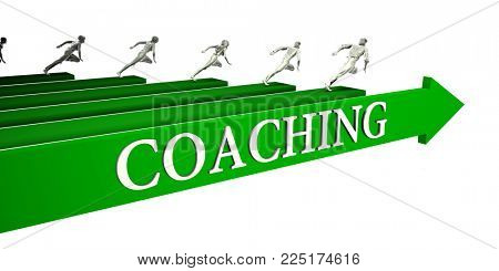 Coaching Opportunities as a Business Concept Art 3d Render