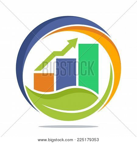 logo icon illustration for business finance investment