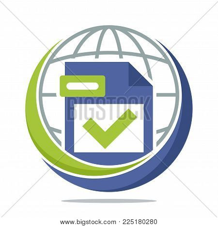 logo icon for global tax management media