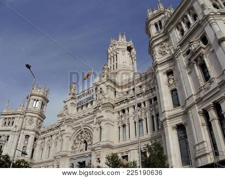 Architecture Details In Madrid, Spain, Refugy Welcome