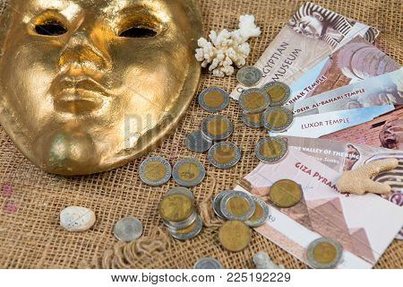 Piastres, Egypt Sinai Africa, Egyptian pounds, Wealth of Egypt, Gold
