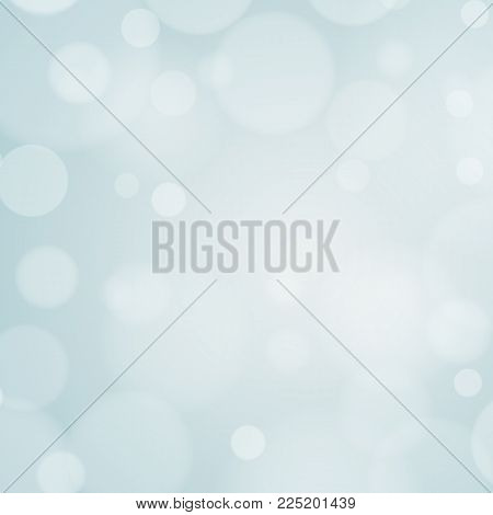 Abstract gray bokeh lights. Gray light background for your design. Vector illustration. EPS 10