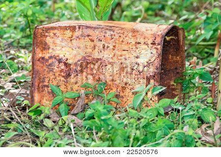 Rust Old Tank