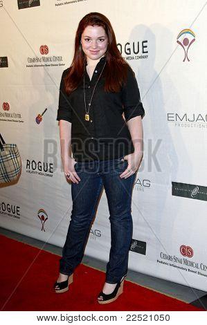 LOS ANGELES - JUN 14: Jennifer Stone at the Rock-N-Reel event held at Culver Studios in Los Angeles, California on June 14, 2009