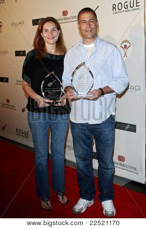 LOS ANGELES - JUN 14: Alexandra Milchan-Lambert and Scott Lambert at the Rock-N-Reel event held at Culver Studios in Los Angeles, California on June 14, 2009