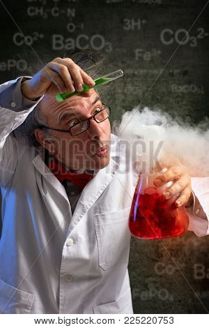 Scientist added drop of important chemical in experiment, danger experiment