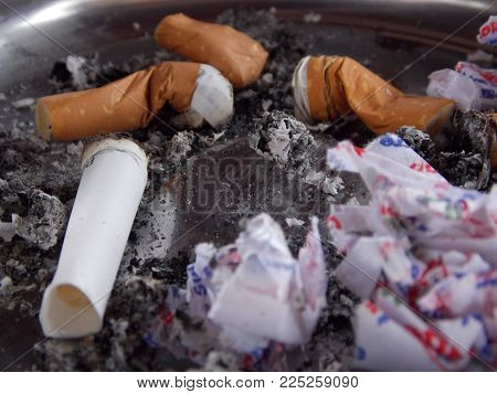 smoking is harmful to the environment and to human health.