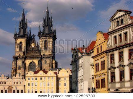 Prague Capital Of Chech Republic.