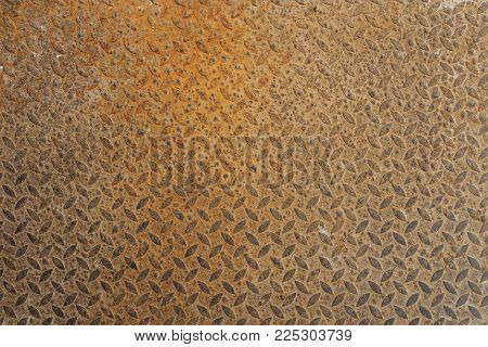 Close up rusty metal texture. Rusty metal background.