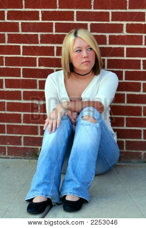 Daydreaming By The Brick Wall