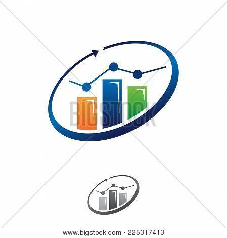 business Finance logo, modern Marketing and Finance logo concept business.