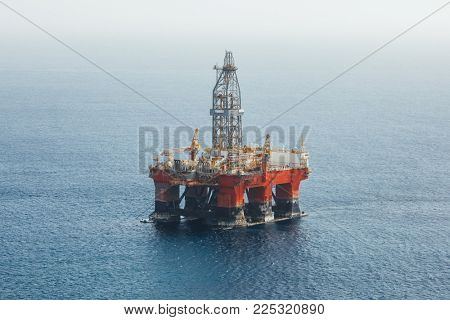 offshore oil and gas platform