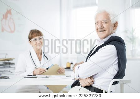 Man At The Doctor's Office