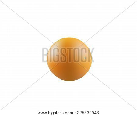 Big ripe juicy orange isolated on a white background. Citrus fruits. Fresh orange fruit, close-up. Exotic and tropical fruit. Fresh, bright and juicy orange.