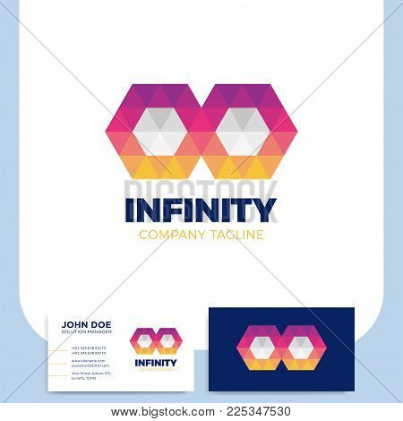 Infinity Symbol Logo Vector Photo Free Trial Bigstock