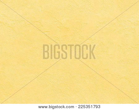 Yellow Seamless Stone Texture. Yellow Venetian Plaster Background Seamless Stone Texture. Traditiona