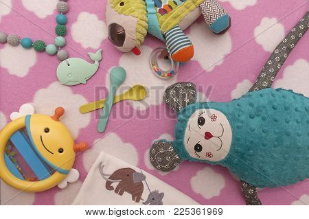 It Is Image Of Toys And Childrens Decoration