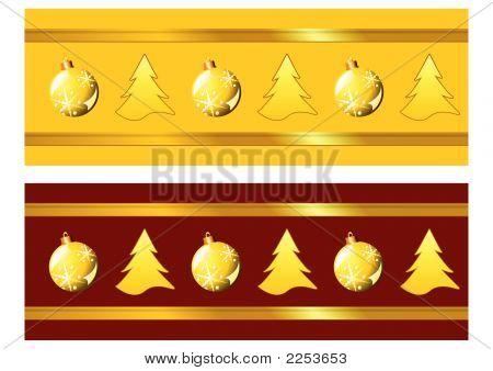 Weihnachten-Bänder