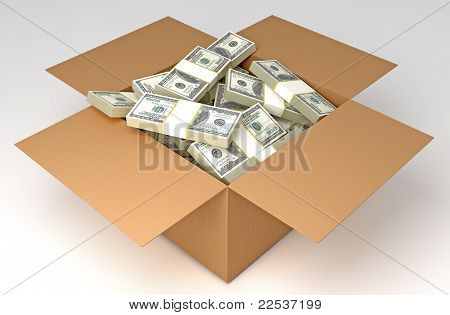 Money in the box