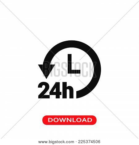 Delivery icon vector in modern flat style for web, graphic and mobile design. Delivery icon vector isolated on white background. Delivery icon vector illustration, editable stroke and EPS10. Delivery icon vector simple symbol for app, logo, UI.