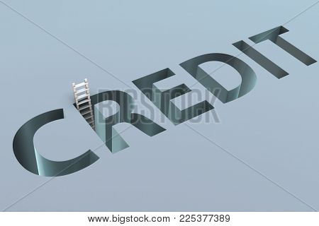 Credit word in the concept of borrowing