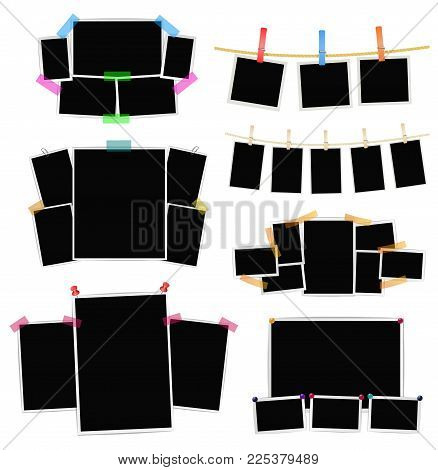 Photo Frames Collage Vector & Photo (Free Trial) | Bigstock