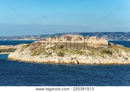 View Of The Ratonneau Island, Marseille, France