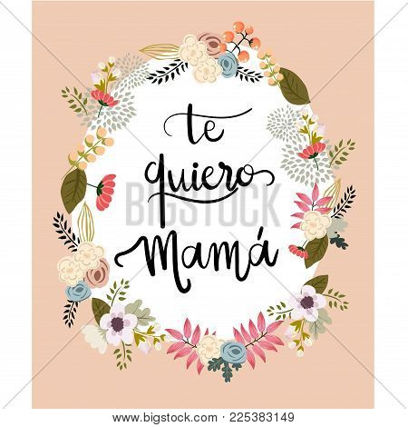 Mother's Day Lettering Card.