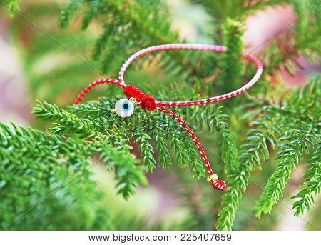 Traditional Greek March Bracelet - Greek Martis - Protection Jewelry