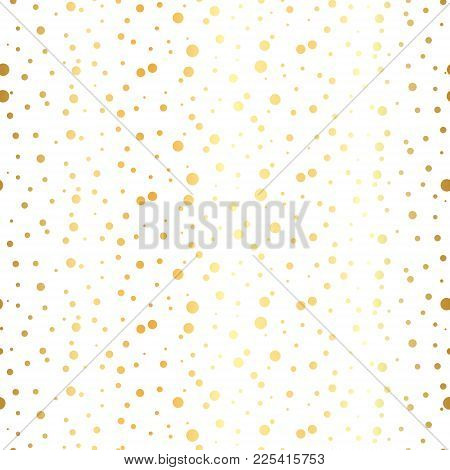 White And Gold Pattern. Abstract Geometric Modern Background. Vector Illustration.shiny Backdrop. Te
