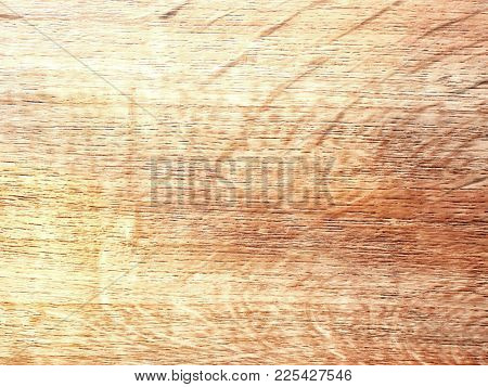 Detail Of Pine Wooden Board. Natural Rustic Wood Background With Pine Structure And  Knots