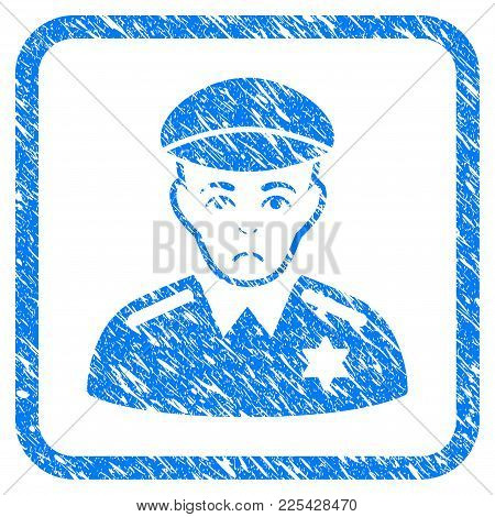 Sheriff Rubber Seal Stamp Imitation. Icon Vector Symbol With Grunge Design And Unclean Texture Insid