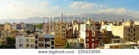 Tehran Panoramic View. Iran