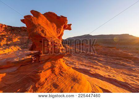 Little Finland near Mesquite, Nevada, USA