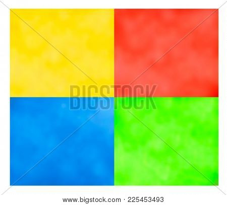 four colours background