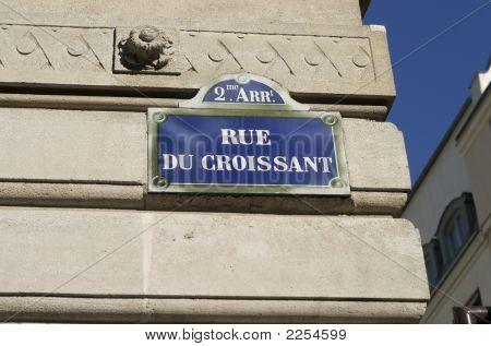 Rue Du Croissant, Paris, France