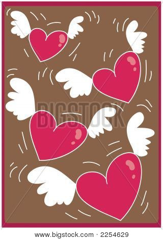 Hearts Flying