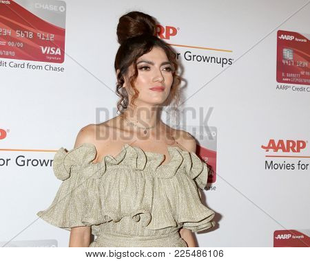 LOS ANGELES - JAN 8:  Blanca Blanco at the AARP's 17th Annual Movies For Grownups Awards at Beverly Wilshire Hotel on January 8, 2018 in Beverly Hills, CA