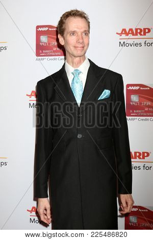 LOS ANGELES - JAN 8:  Doug Jones at the AARP's 17th Annual Movies For Grownups Awards at Beverly Wilshire Hotel on January 8, 2018 in Beverly Hills, CA