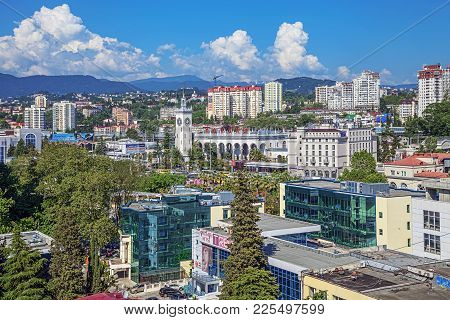 The Port And Resort City Of Sochi Has Its Own Unique Architectural Appearance