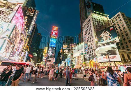 New York - SEPTEMBER 5, 2010: Times Square on September 5 in New